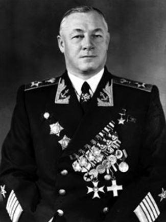 Нарком ВМФ ССР Николай Герасимович Кузнецов