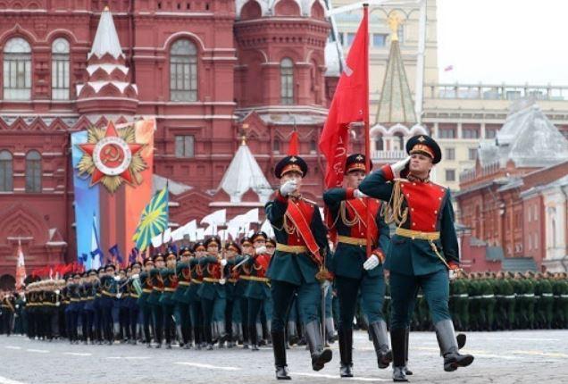 Военный парад 9 мая на Красной площади