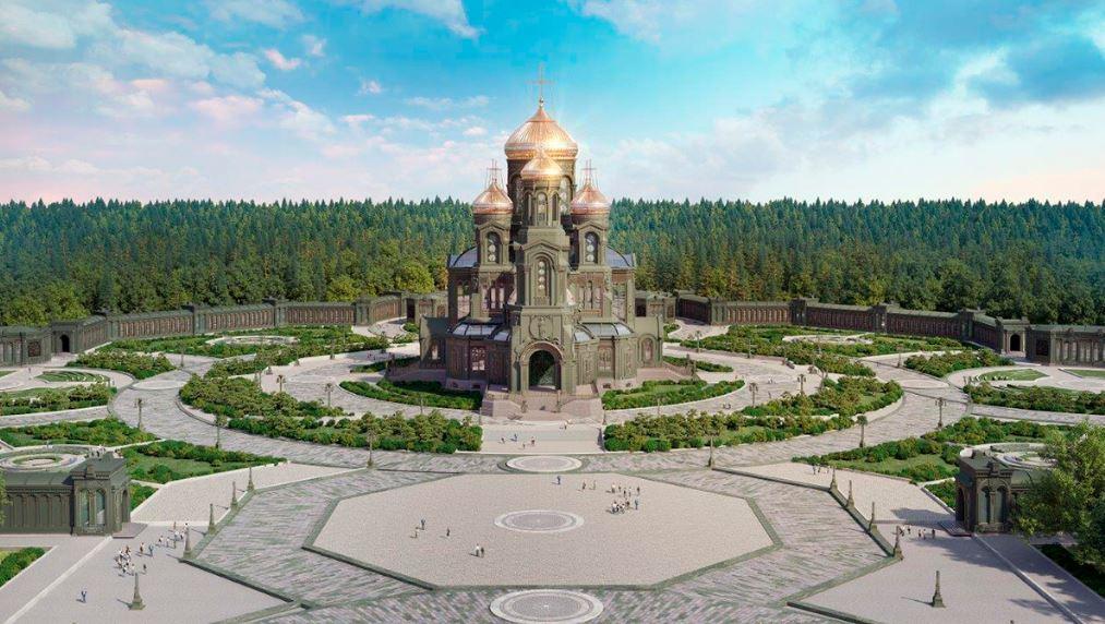 Главный храм Вооруженных Сил России - Храм Воскресения Христова