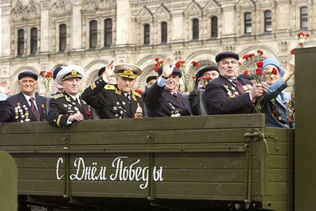 Парад 9 мая ко Дню Победы 2005 года